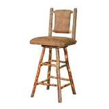 Anzalone 18.5 Swivel Bar Stool by Loon Peak