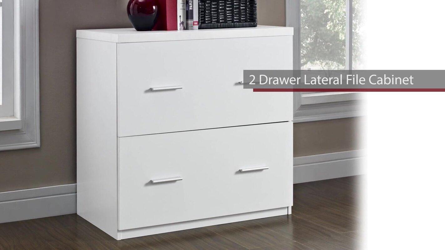 Latitude Run Magdalena 2 Drawer Lateral File Cabinet Reviews Wayfair