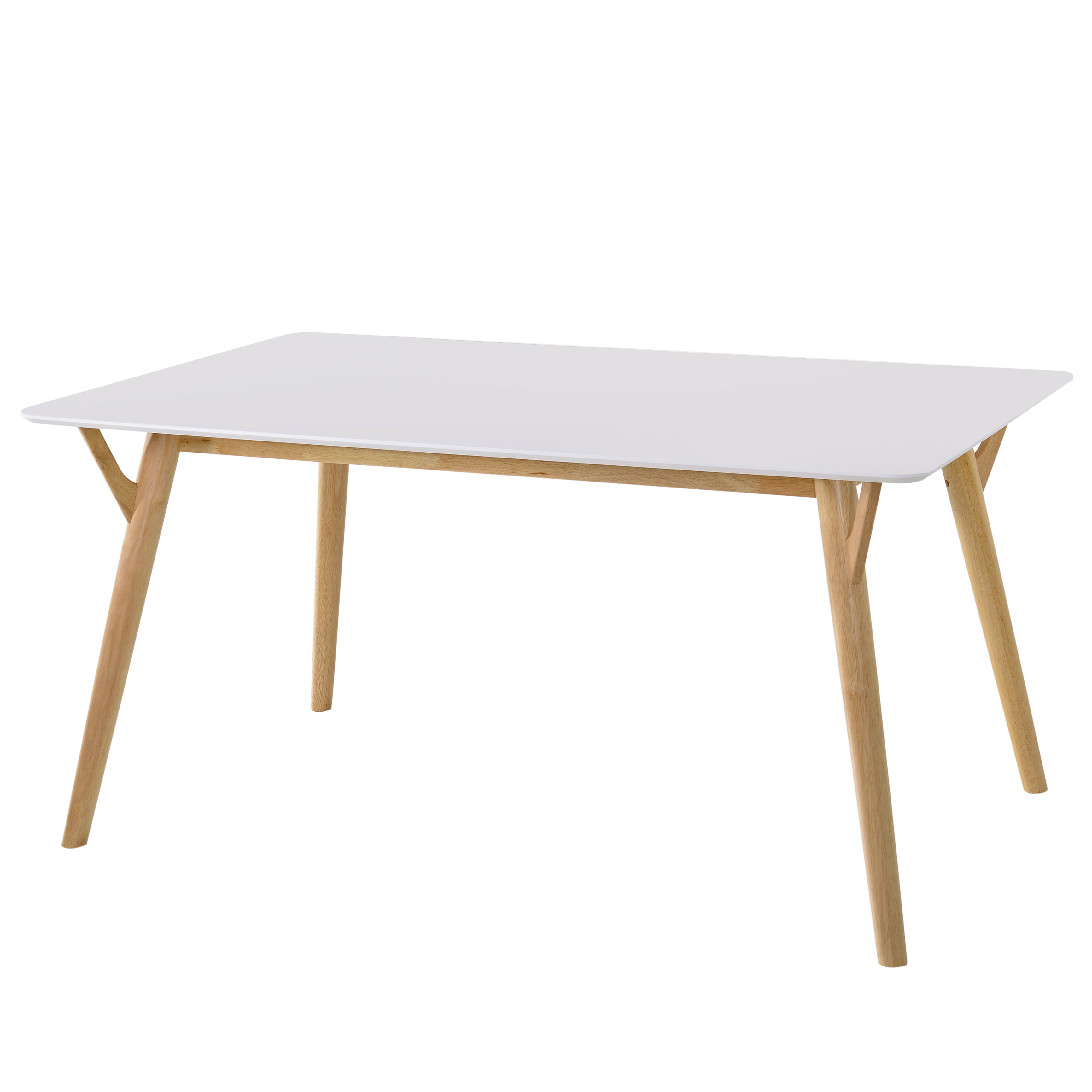 Cloutier Solid Wood Dining Table