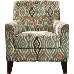Briony Tufted Armchair by Latitude Run