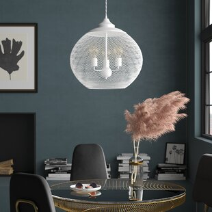 3-Light Globe Chandelier b..