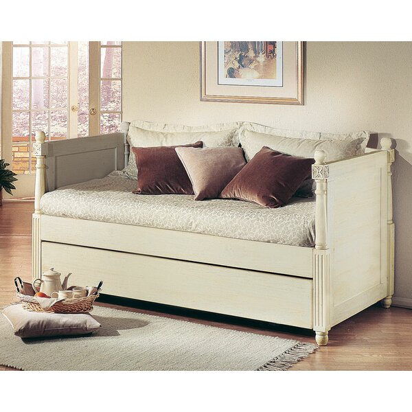 alligator monterey french daybed with popup trundle u0026 reviews wayfair