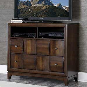 Ainslie Brook 4 Drawer Media Chest by World Menagerie