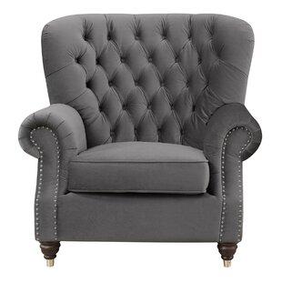 Bethzy Platinum Armchair by Trent Austin Design