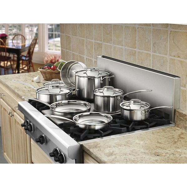 Cuisinart Multiclad Pro 12 Piece Stainless Steel Cookware Set Reviews