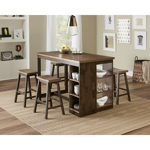 Espanola 5 Piece Pub Table Set