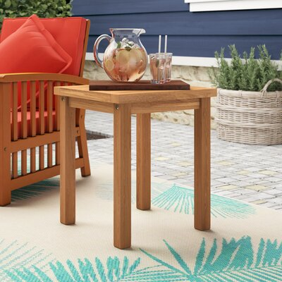 Corum Wooden Side Table by Highland Dunes Sale