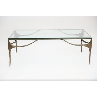 Dulcinea Iron Coffee Table by Bloomsbury Market No Copoun