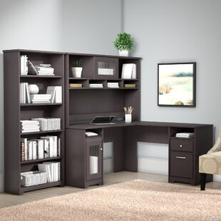 Hillsdale L-Shaped Executive Desk Office Suite