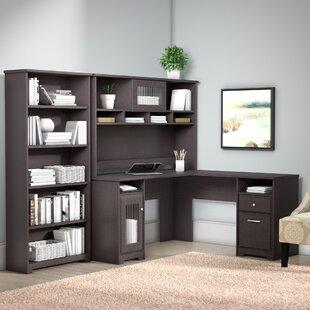 Comparison Toledo L-Shaped Executive Desk Office Suite ByRed Barrel Studio