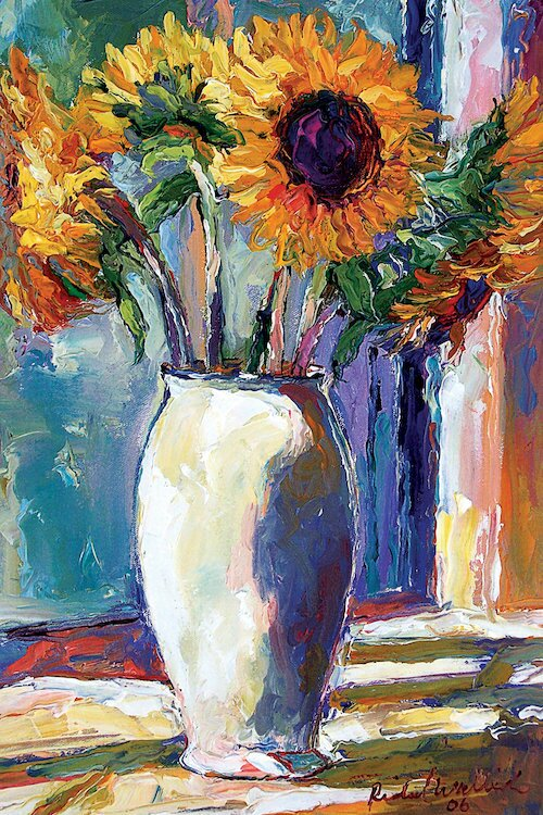 Charlton Home Sunny Painting Print On Wrapped Canvas Wayfair