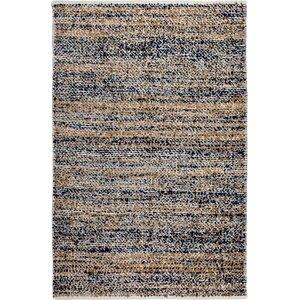 Estate Hand-Woven Multi Brown/Black Indoor/Outdoor Area Rug