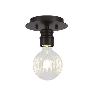 Keon 1-Light Semi Flush Mount by Ebern Designs