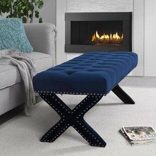 Inspired Home Co. Lovell Upholstered Bench
