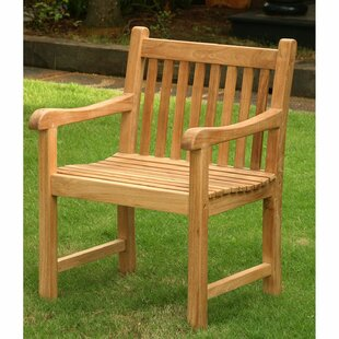 Emmitt Teak Patio Dining Chair