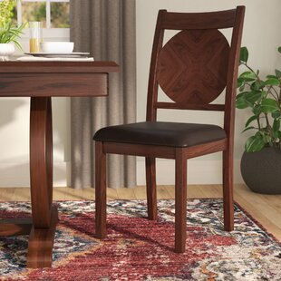 Kapoor Upholstered Dining Chair (Set Of 2) by World Menagerie Best Choices