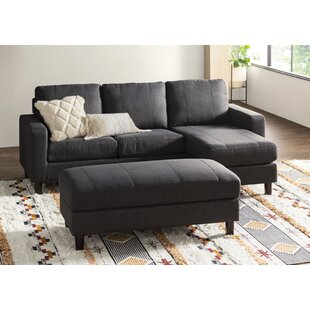 Askerby Reversible Modular Sectional With Ottoman by Three Posts Fresh