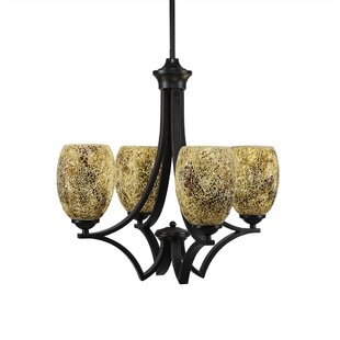 Couto 4-Light Shaded Chandelier