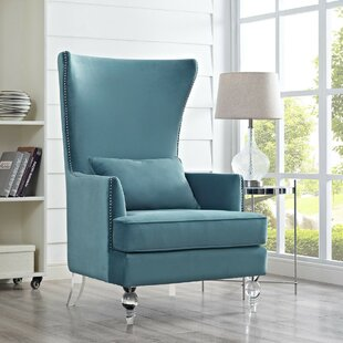 Hagan Wingback Chair by Rosdorf Park