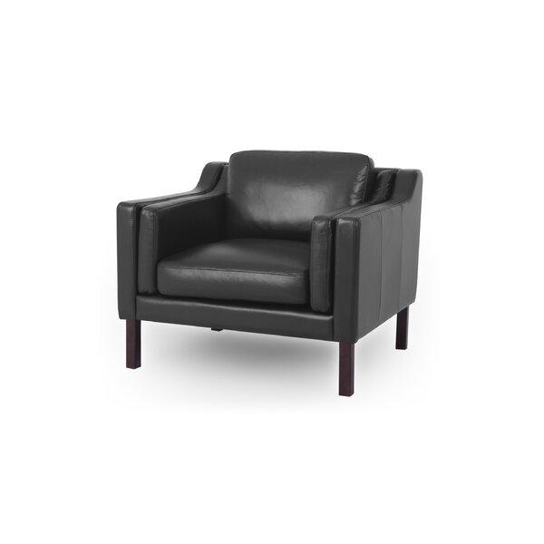 Tremendous Leather Mid Century Chair Wayfair Inzonedesignstudio Interior Chair Design Inzonedesignstudiocom