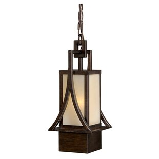 Reviews Port Lincoln 1-Light Outdoor Pendant By Loon Peak