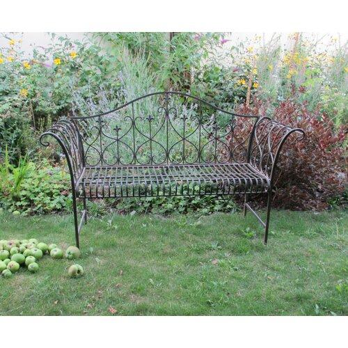 Gartenbank Miramar aus Stahl | Garten > Gartenmöbel > Gartenbänke | Antikbraun | Garten Living
