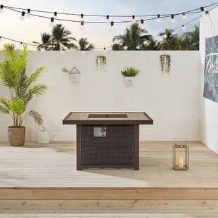 Belo Aluminum Propane Gas Fire Pit Table