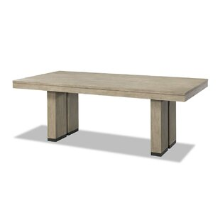 Kadence Trestle Dining Table Loon Peak