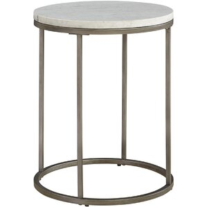 Louisa Round End Table by Brayden Studio