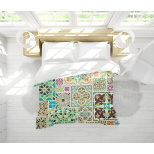 Tile Lightweight Single Comforter by Bungalow Rose