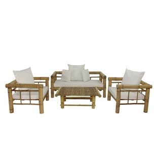 Kozan 4 Piece Sofa Set with Cushions