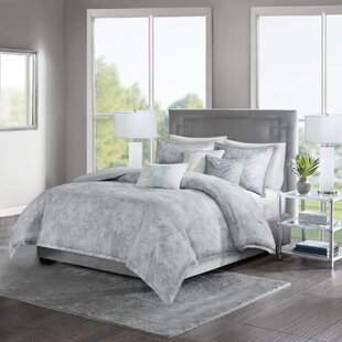 Hulett 100% Cotton 6 Piece Duvet Cover Set