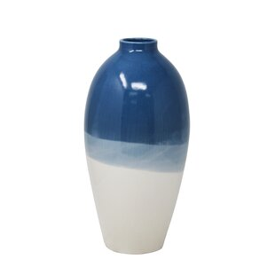 Los Angeles Decorative Ceramic Table Vase byBloomsbury Market