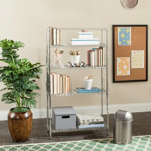 Wire Etagere Bookcase by Symple Stuff