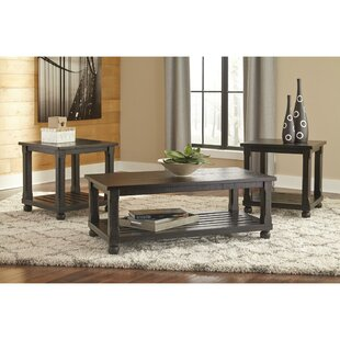 Zeman 3 Piece Coffee Table Set by Darby Home Co