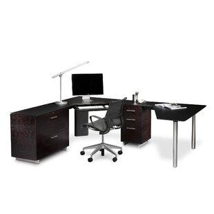 BDI Sequel L-Shape Executive Desk