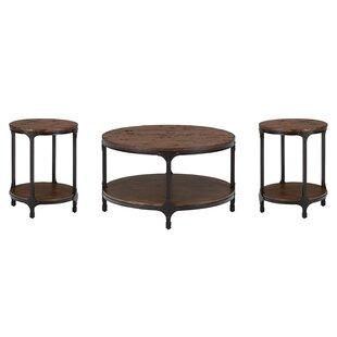 Carolyn 3 Piece Coffee Table Set