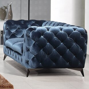 Vennie Chesterfield Loveseat