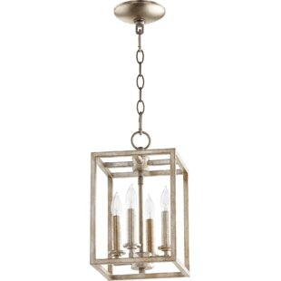 Montejano Entry 4-Light Square/Rectangle Pendant by Breakwater Bay