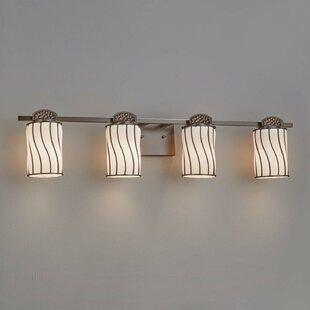 Hillis 4-Light Vanity Light by Fleur De Lis Living