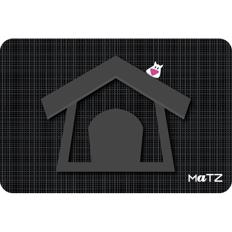 Smart Tiles Matz Lucky Dog House 18 In X 12 In Non Slip Indoor Pet Mat Wayfair