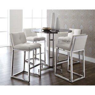 Sunpan Modern Alba Pub Table Set