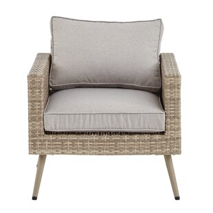 Bungalow Rose Pantano Lounge Chair with C..