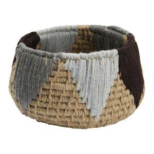 Korb Tyllia aus Stoff von Madura