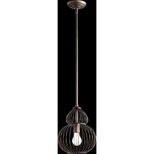 1-Light Foyer Pendant by Quorum