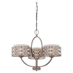 Helina 3-Light Shaded Chandelier by Willa Arlo Interiors