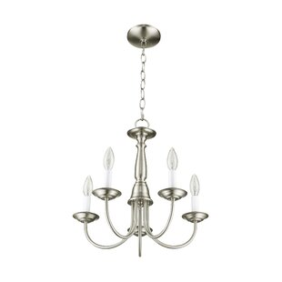 Cloverfield 5-Light Candle Style Chandelier by Charlton Home