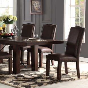 Metinaro Upholstered Dining Chair (Set of 2) Charlton Home