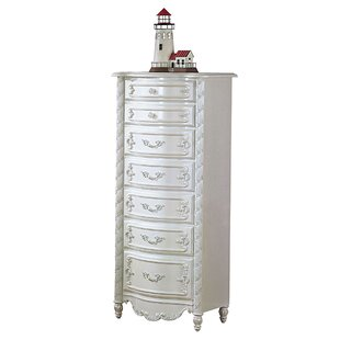 Best Reviews Braswell Carved Wooden 7 Drawer Chest by House of Hampton