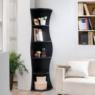 Corner Bookcase by Hokku Designs